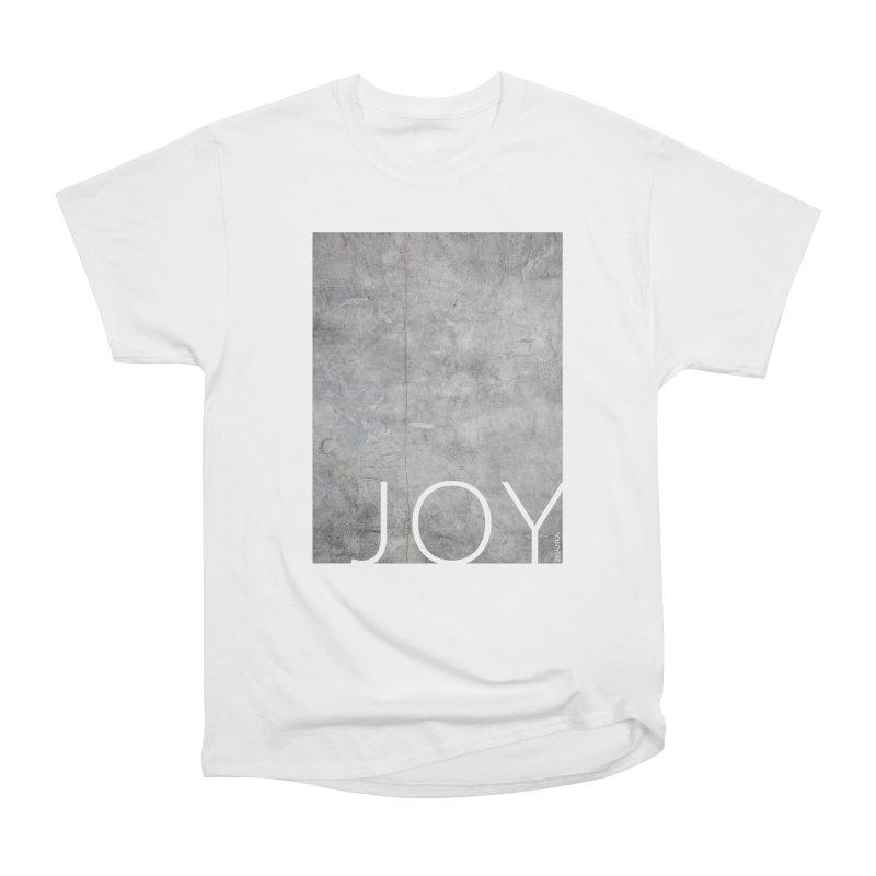 JOY // Concrete Foundation Women's Heavyweight Unisex T-Shirt by desankaspirit's Artist Shop