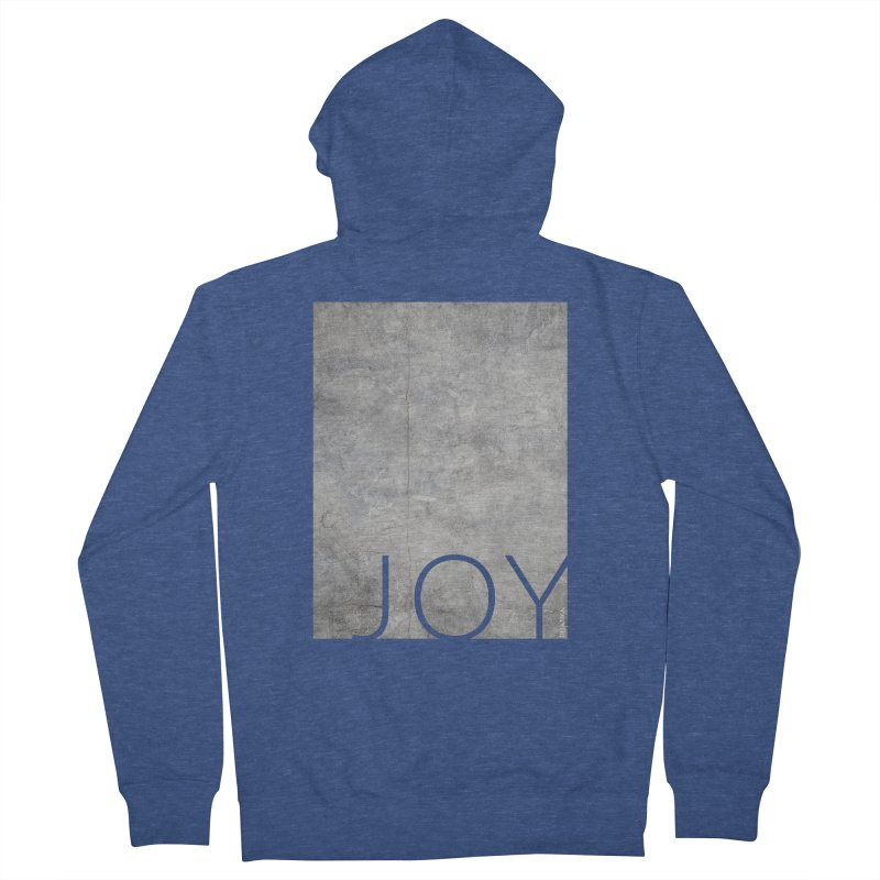 JOY // Concrete Foundation Women's French Terry Zip-Up Hoody by desankaspirit's Artist Shop