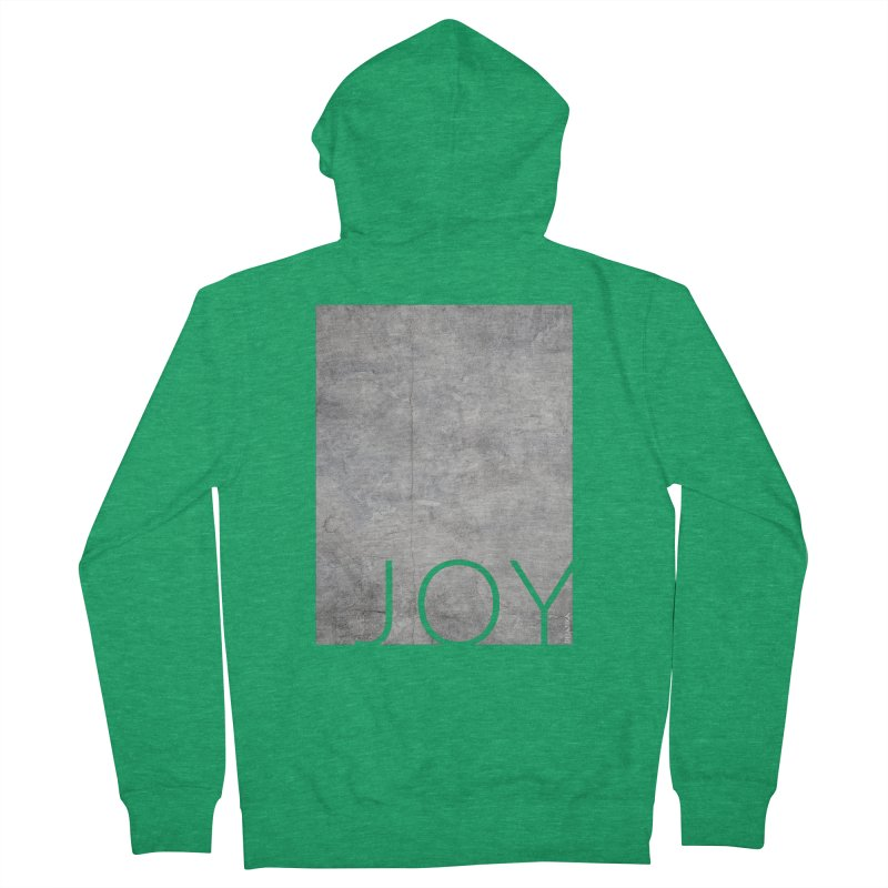 JOY // Concrete Foundation Men's Zip-Up Hoody by Desanka Spirit's Artist Shop