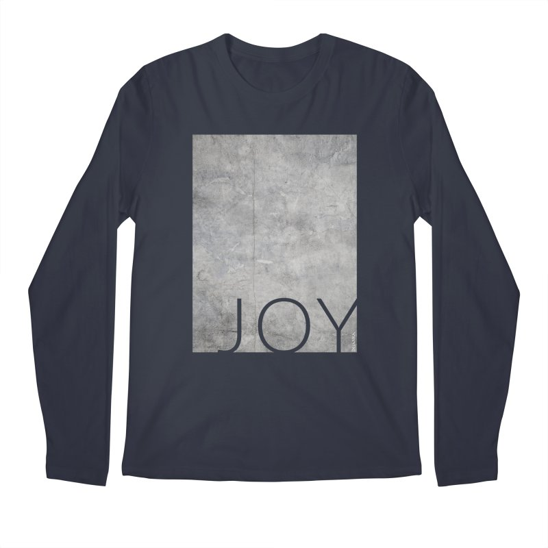 JOY // Concrete Foundation Men's Regular Longsleeve T-Shirt by desankaspirit's Artist Shop