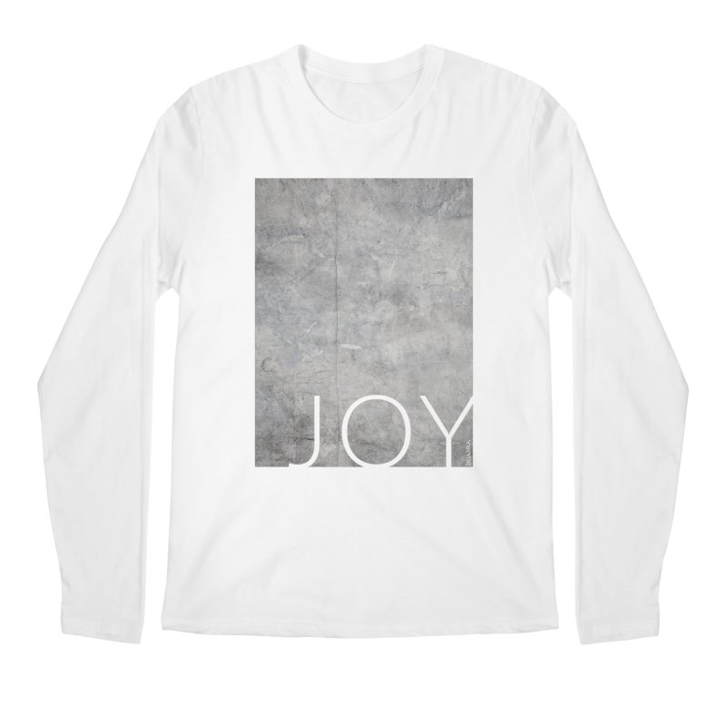 JOY // Concrete Foundation Men's Longsleeve T-Shirt by Desanka Spirit's Artist Shop