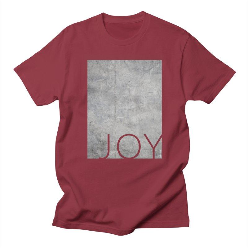 JOY // Concrete Foundation Women's Regular Unisex T-Shirt by Desanka Spirit's Artist Shop