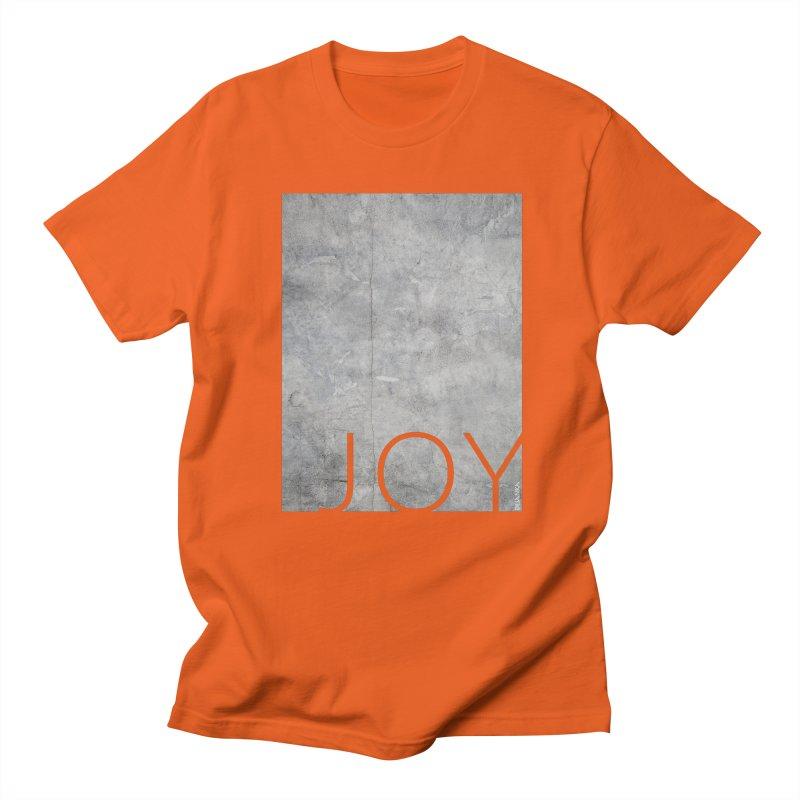 JOY // Concrete Foundation Men's T-Shirt by Desanka Spirit's Artist Shop
