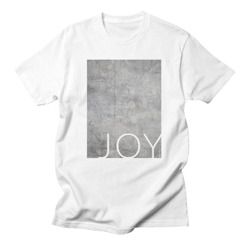 JOY // Concrete Foundation Men's Regular T-Shirt by Desanka Spirit's Artist Shop
