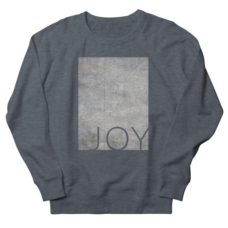 JOY // Concrete Foundation Men's Sweatshirt by Desanka Spirit's Artist Shop