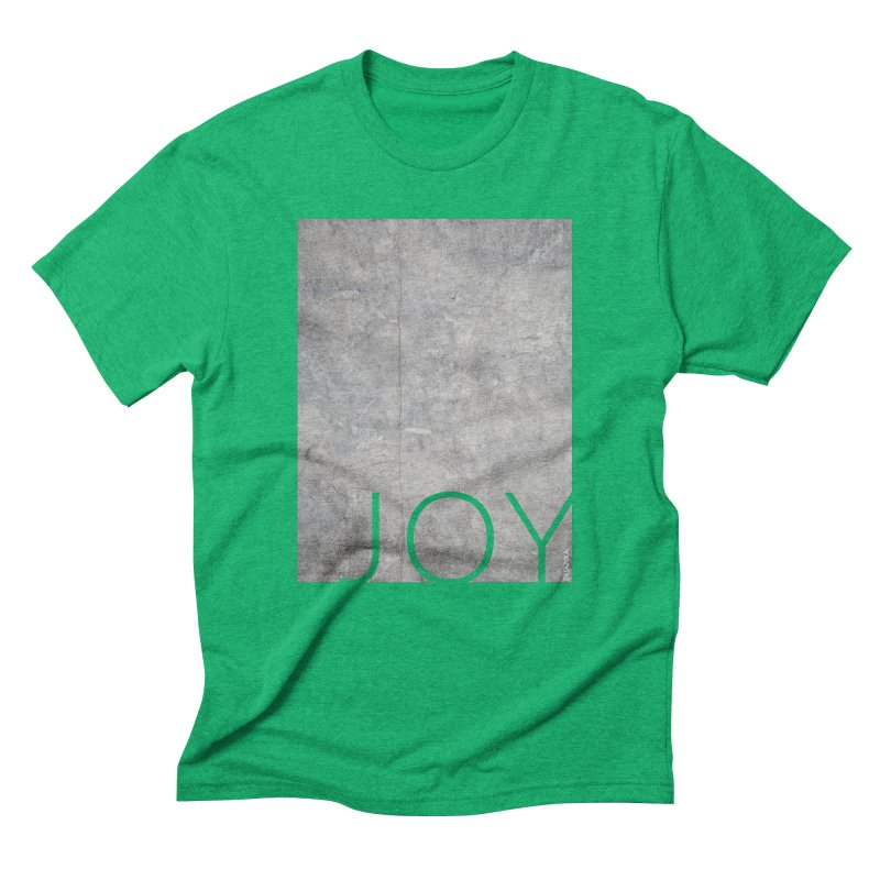 JOY // Concrete Foundation Men's Triblend T-Shirt by Desanka Spirit's Artist Shop
