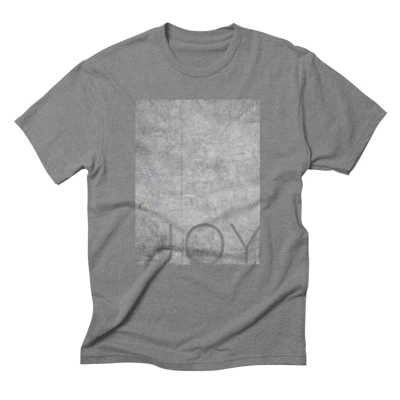 JOY // Concrete Foundation Men's T-Shirt by Desanka Spirit's Artist Shop