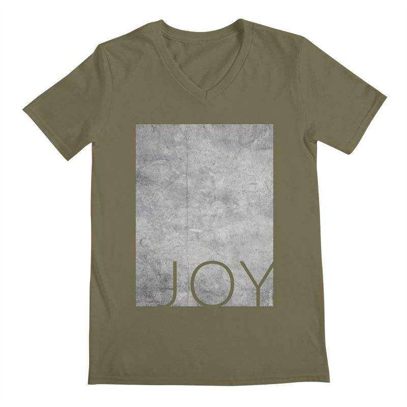 JOY // Concrete Foundation Men's V-Neck by Desanka Spirit's Artist Shop