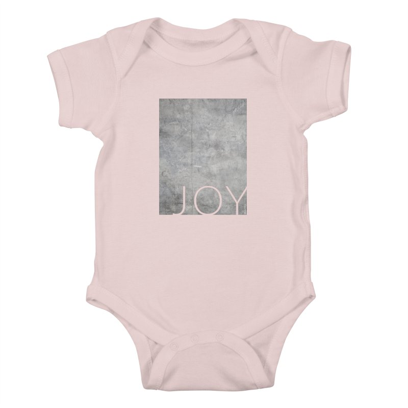 JOY // Concrete Foundation Kids Baby Bodysuit by Desanka Spirit's Artist Shop