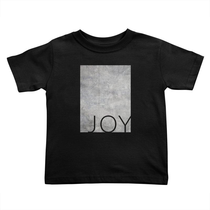 JOY // Concrete Foundation Kids Toddler T-Shirt by desankaspirit's Artist Shop