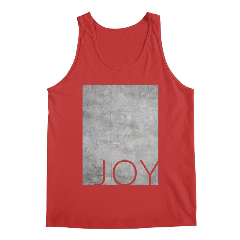 JOY // Concrete Foundation Men's Regular Tank by Desanka Spirit's Artist Shop