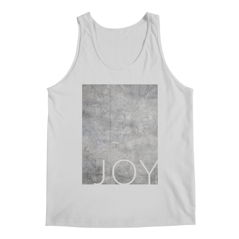 JOY // Concrete Foundation Men's Tank by Desanka Spirit's Artist Shop
