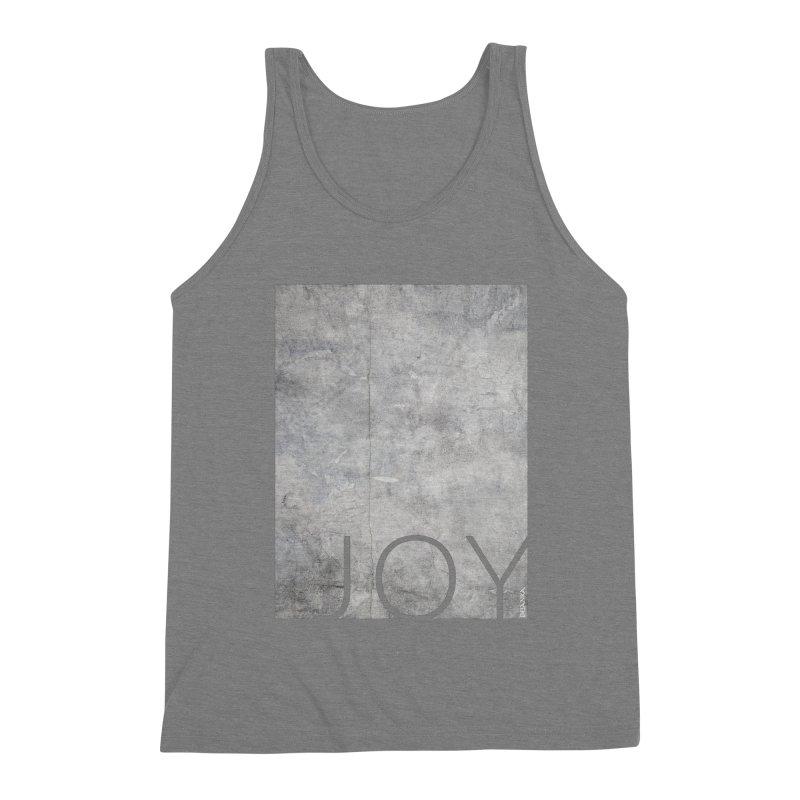 JOY // Concrete Foundation Men's Tank by Desanka Spirit's Artist Shop