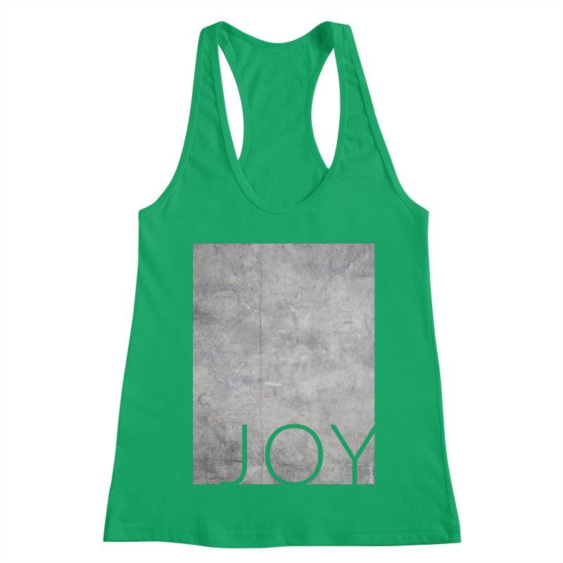 JOY // Concrete Foundation Women's Tank by Desanka Spirit's Artist Shop