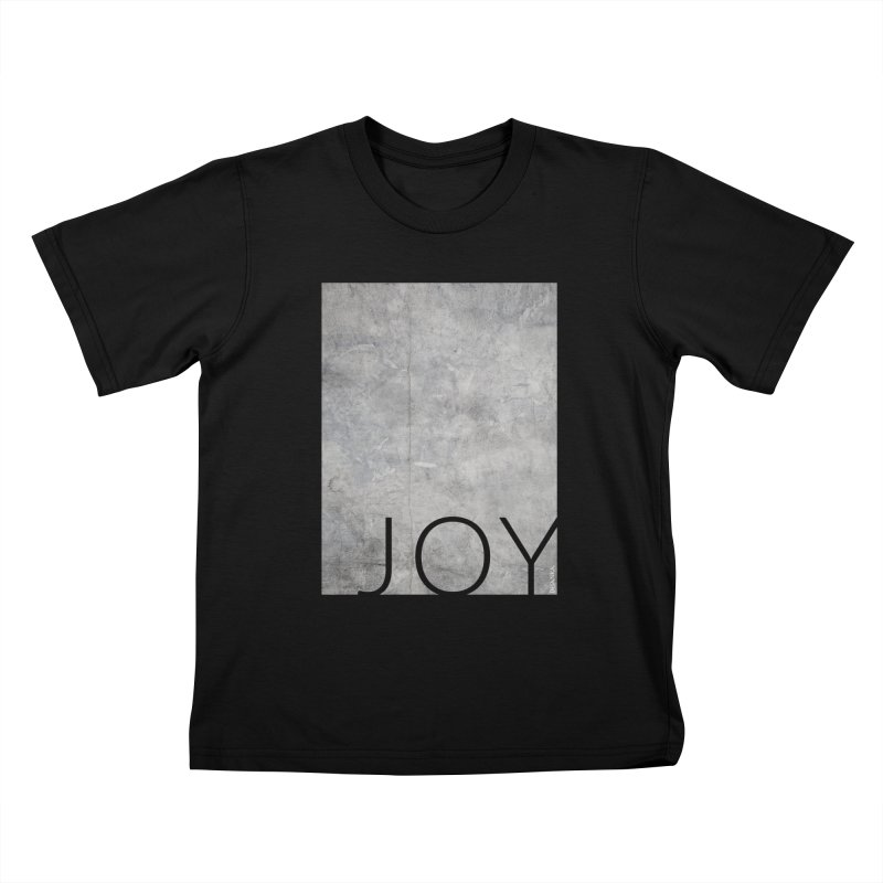 JOY // Concrete Foundation Kids T-Shirt by desankaspirit's Artist Shop