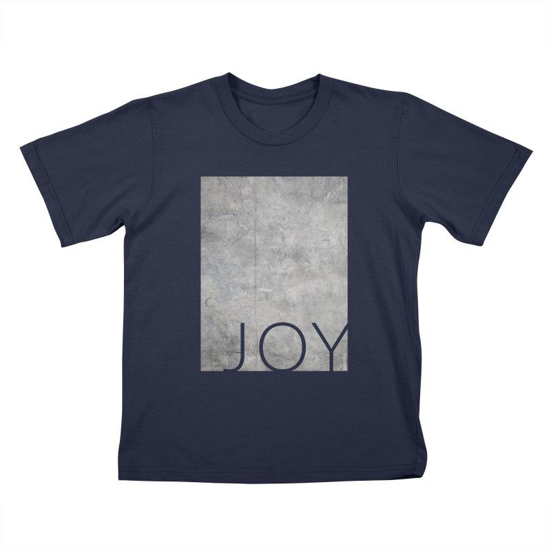 JOY // Concrete Foundation Kids T-Shirt by Desanka Spirit's Artist Shop