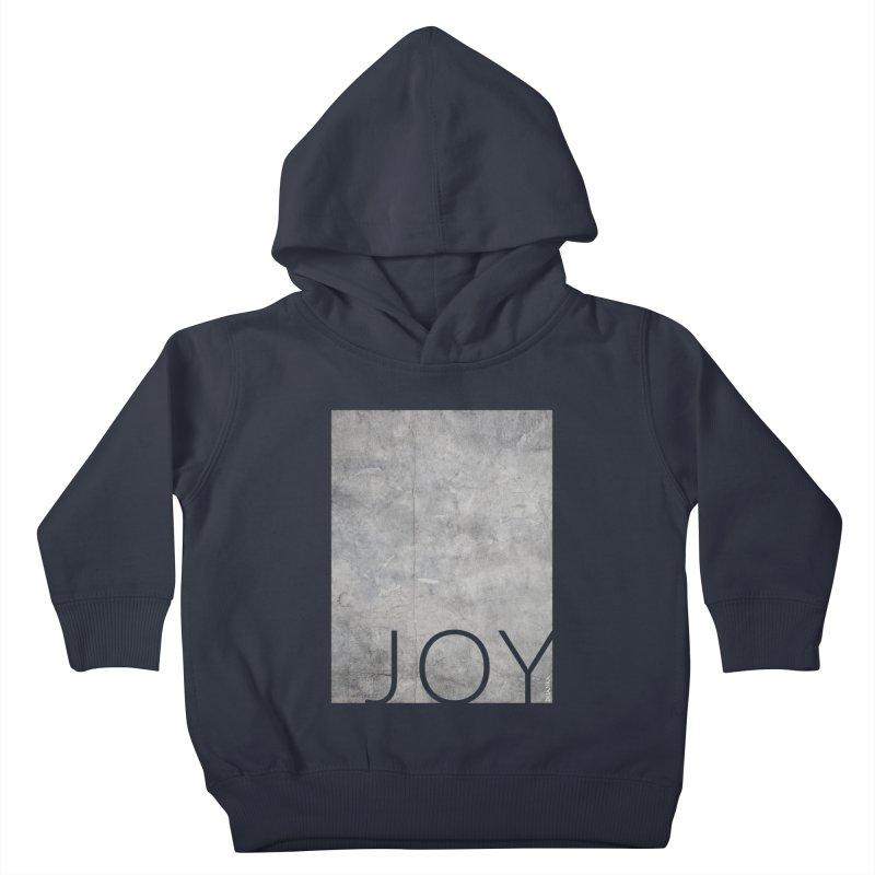 JOY // Concrete Foundation Kids Toddler Pullover Hoody by Desanka Spirit's Artist Shop