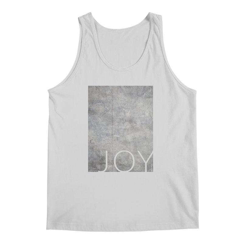 JOY // Concrete Foundation Men's Regular Tank by desankaspirit's Artist Shop
