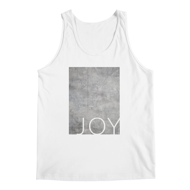 JOY // Concrete Foundation Men's Regular Tank by Desanka Spirit's Artist Shop