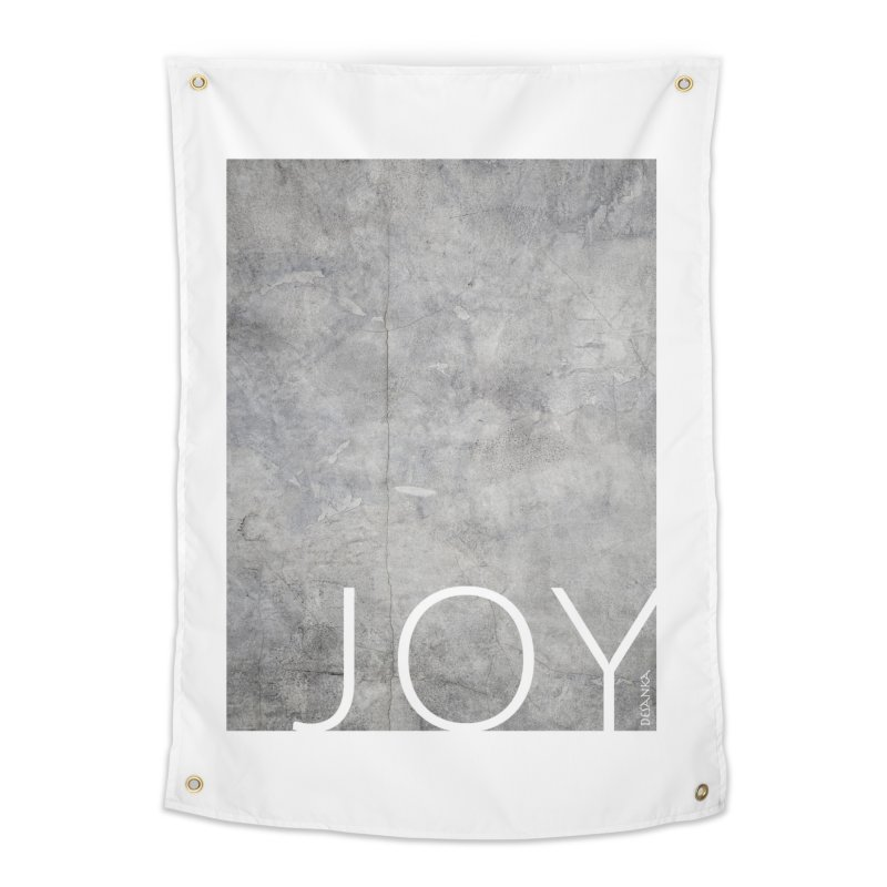 JOY // Concrete Foundation Home Tapestry by Desanka Spirit's Artist Shop