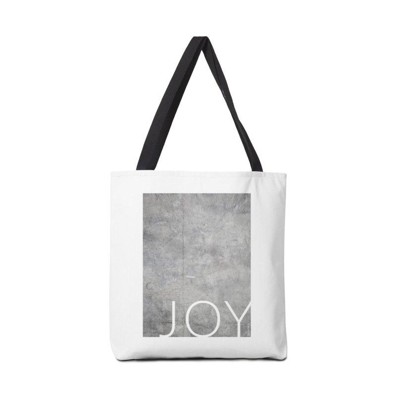 JOY // Concrete Foundation Accessories Bag by Desanka Spirit's Artist Shop