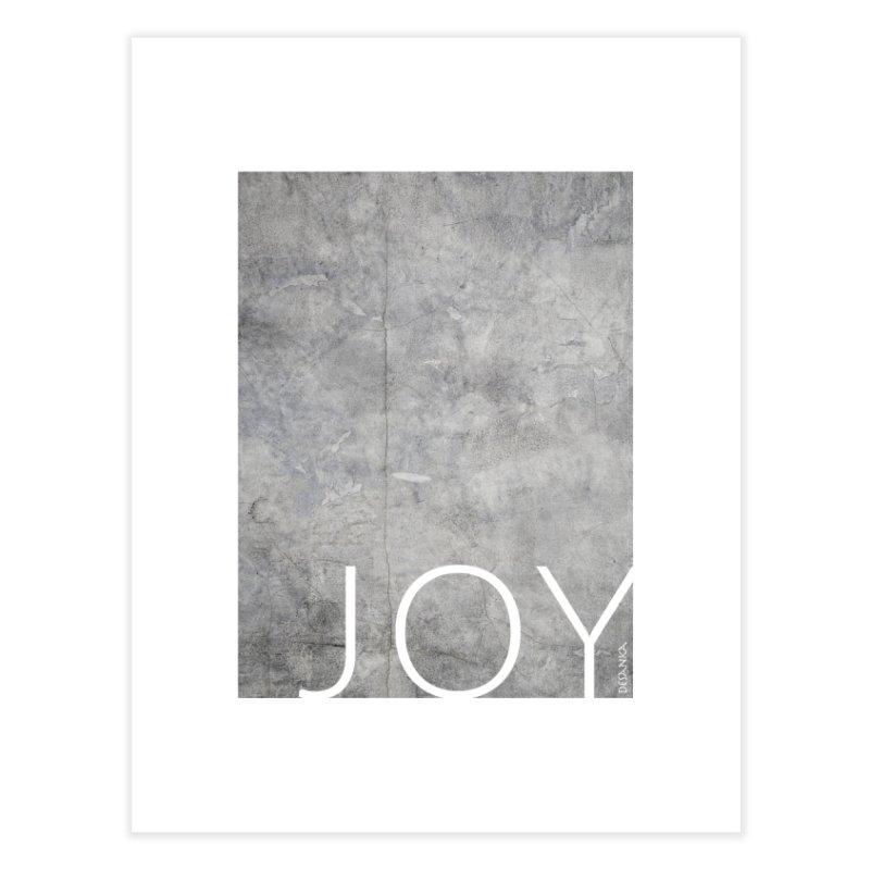 JOY // Concrete Foundation Home Fine Art Print by Desanka Spirit's Artist Shop