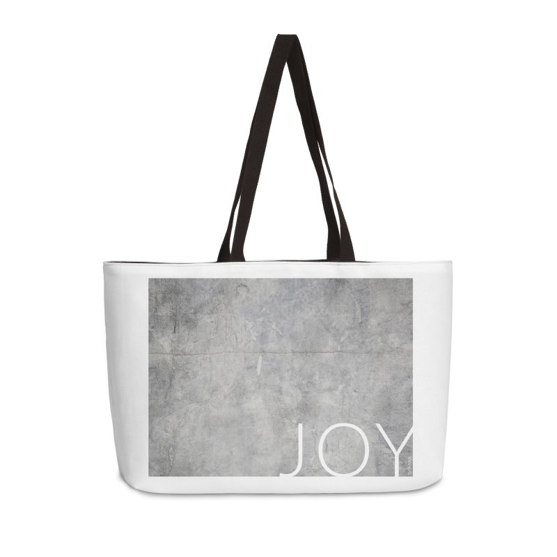 JOY // Concrete Foundation Accessories Bag by Desanka Spirit's Artist Shop