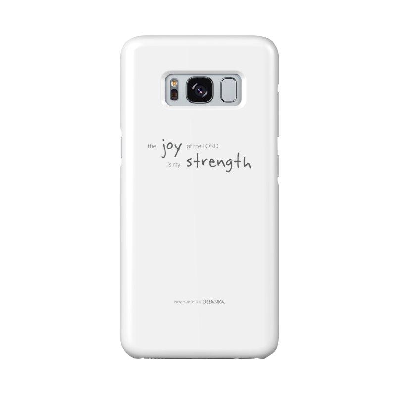 JOY // Is My Strength Accessories Phone Case by Desanka Spirit's Artist Shop