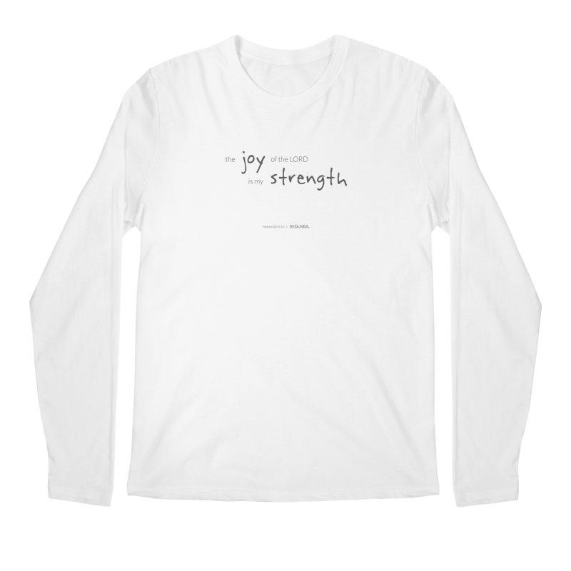 JOY // Is My Strength Men's Regular Longsleeve T-Shirt by Desanka Spirit's Artist Shop