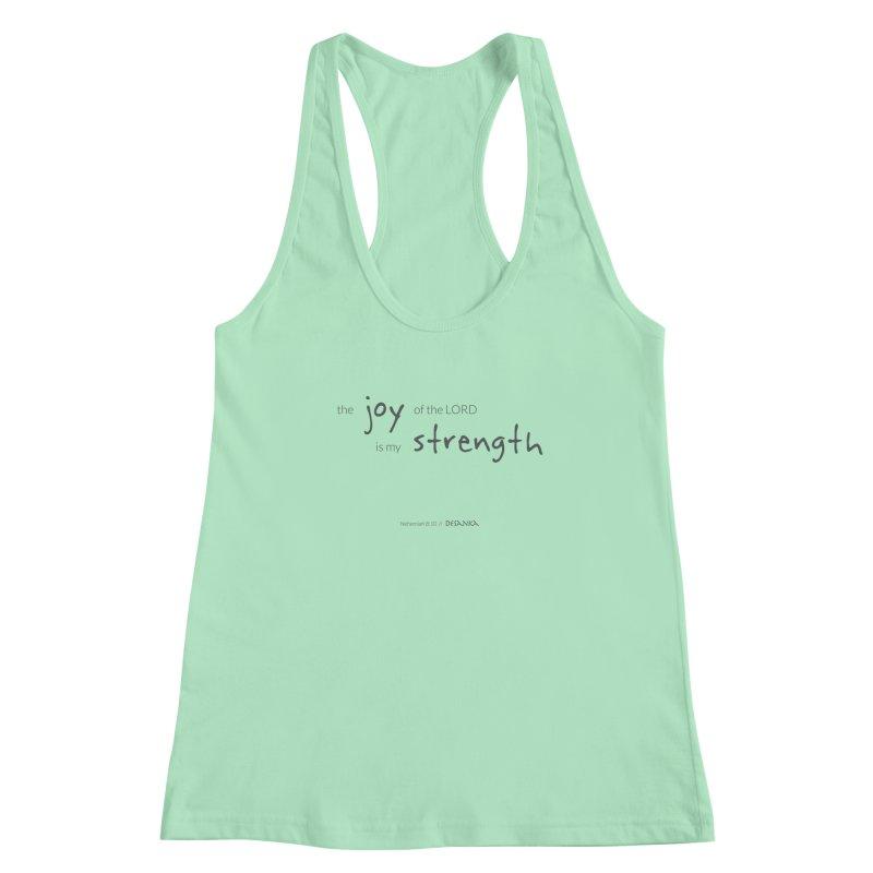 JOY // Is My Strength Women's Tank by Desanka Spirit's Artist Shop