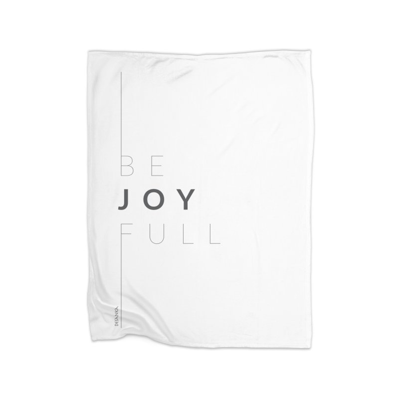 JOY // Full Home Blanket by Desanka Spirit's Artist Shop