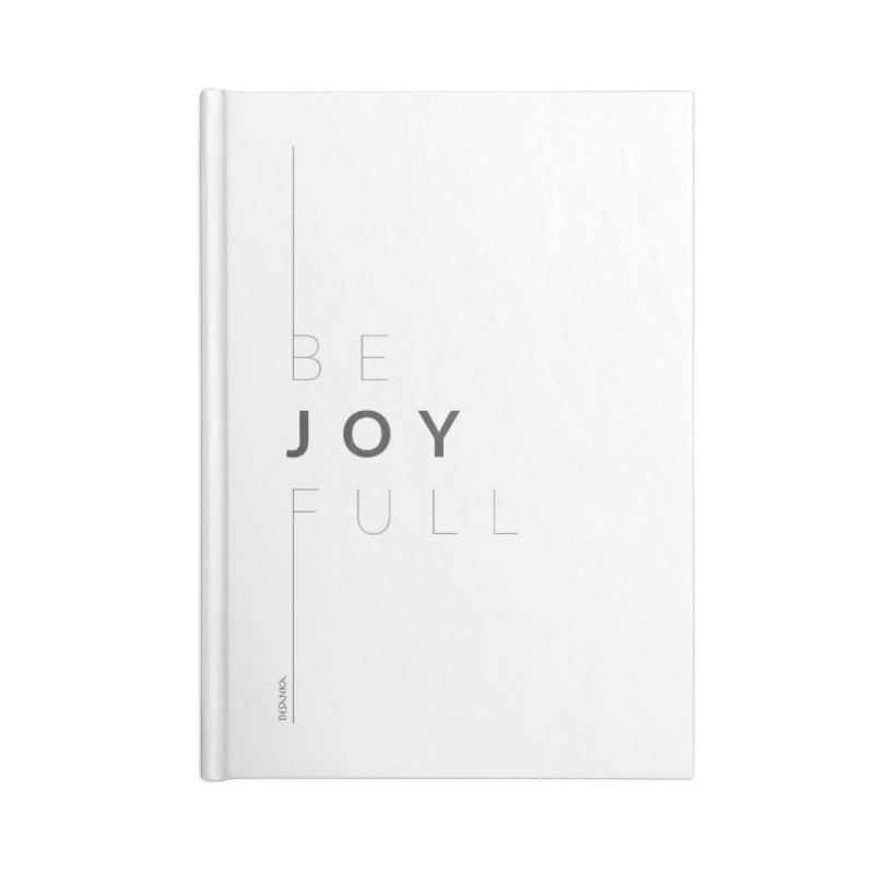 JOY // Full Accessories Blank Journal Notebook by Desanka Spirit's Artist Shop