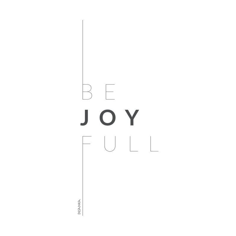 JOY // Full Home Stretched Canvas by Desanka Spirit's Artist Shop