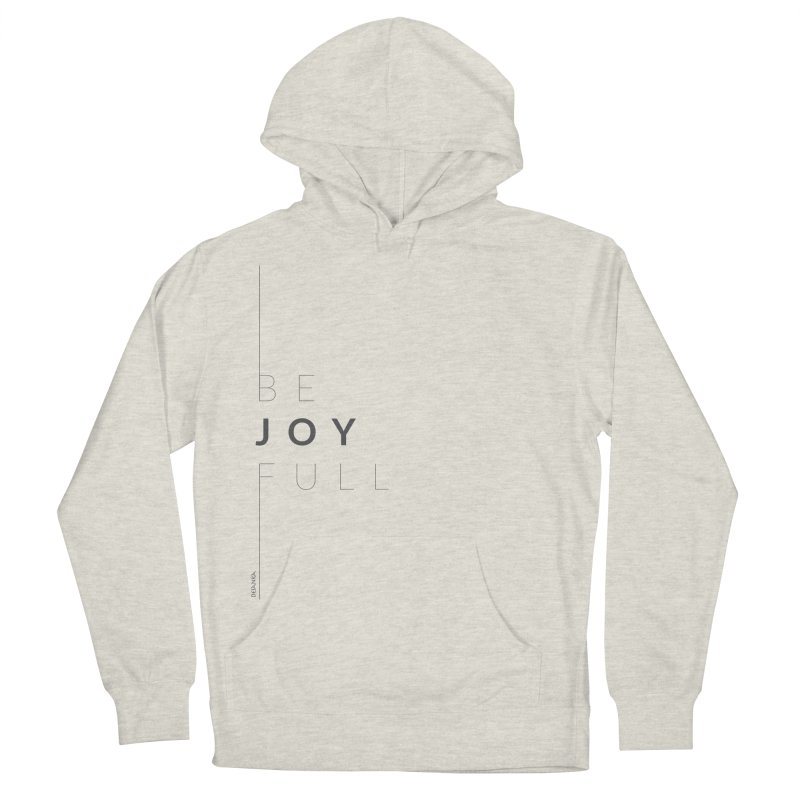 JOY // Full Women's French Terry Pullover Hoody by Desanka Spirit's Artist Shop