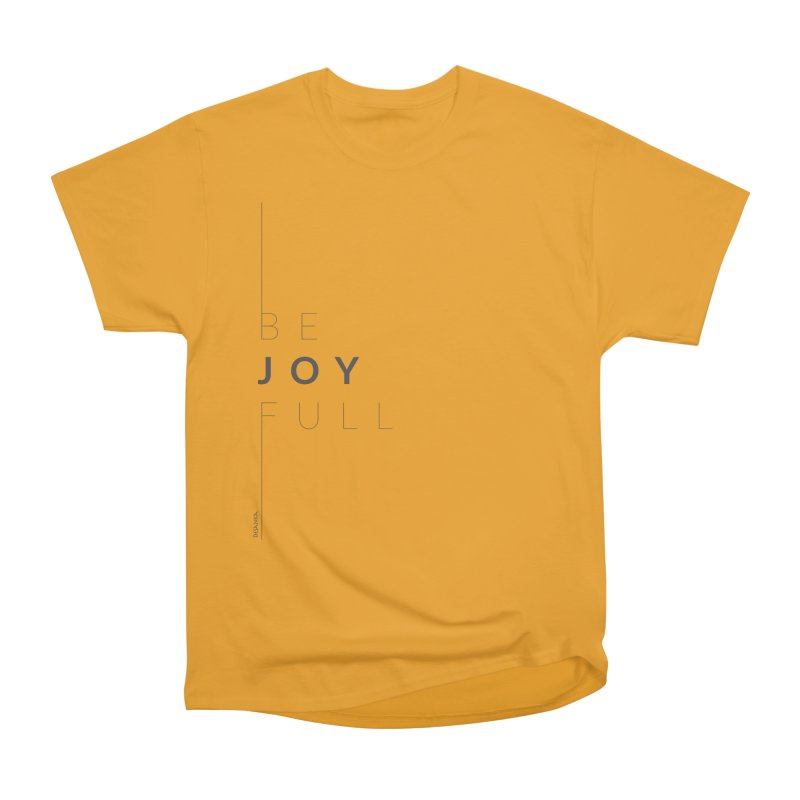 JOY // Full Men's Heavyweight T-Shirt by desankaspirit's Artist Shop