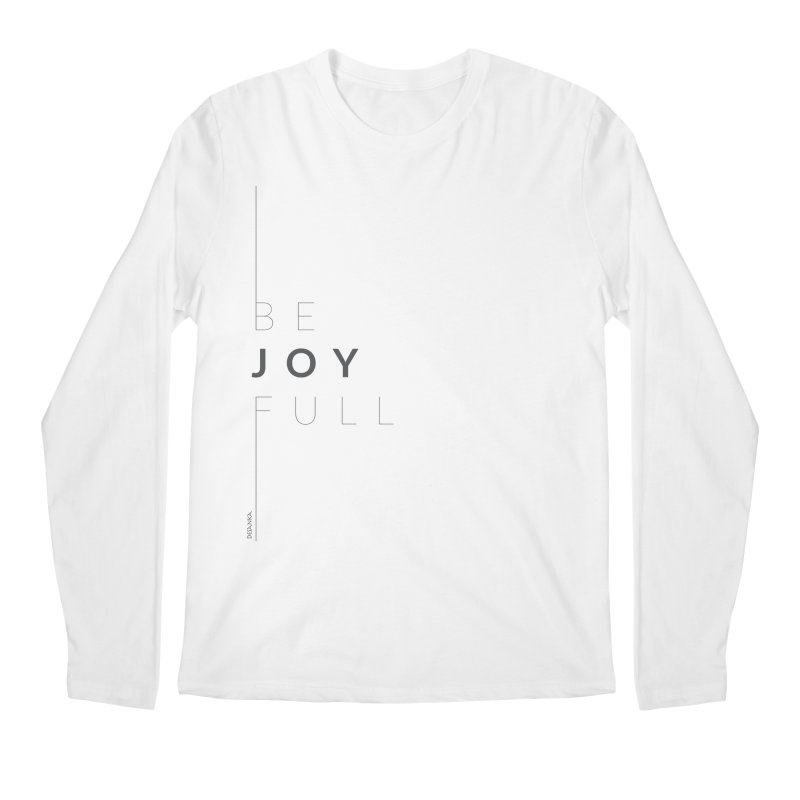 JOY // Full Men's Regular Longsleeve T-Shirt by desankaspirit's Artist Shop