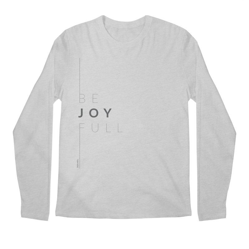 JOY // Full Men's Regular Longsleeve T-Shirt by Desanka Spirit's Artist Shop