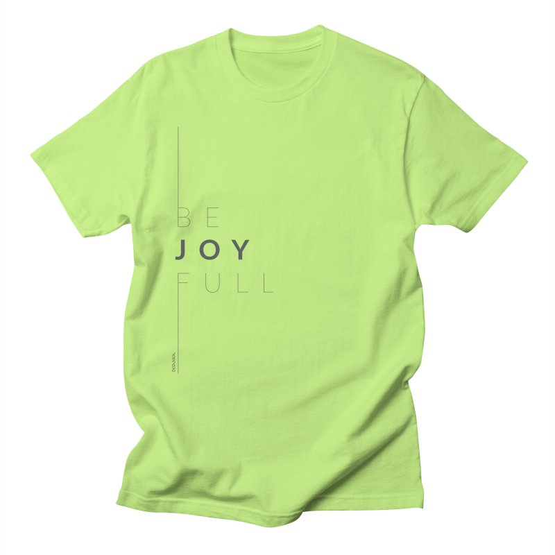 JOY // Full Men's Regular T-Shirt by Desanka Spirit's Artist Shop