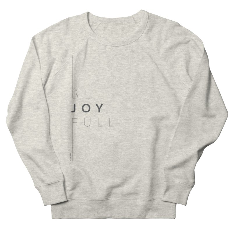 JOY // Full Women's French Terry Sweatshirt by Desanka Spirit's Artist Shop