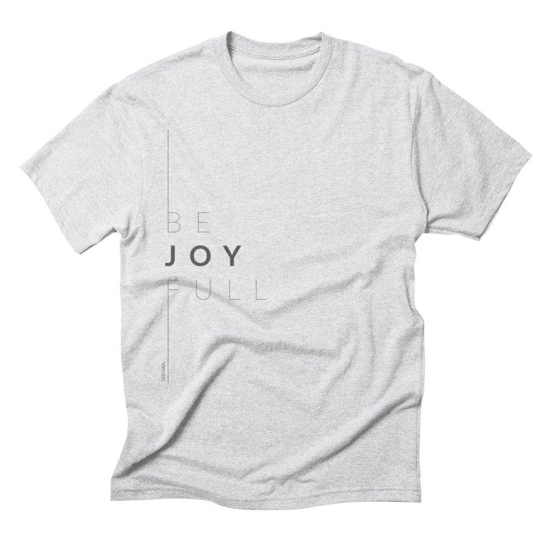 JOY // Full Men's Triblend T-Shirt by desankaspirit's Artist Shop