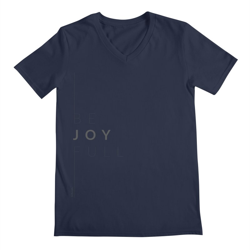 JOY // Full Men's Regular V-Neck by Desanka Spirit's Artist Shop
