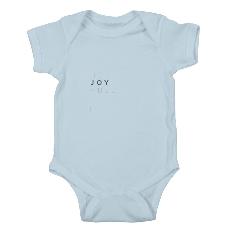 JOY // Full Kids Baby Bodysuit by Desanka Spirit's Artist Shop