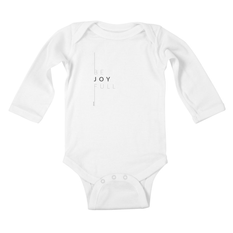 JOY // Full Kids Baby Longsleeve Bodysuit by Desanka Spirit's Artist Shop