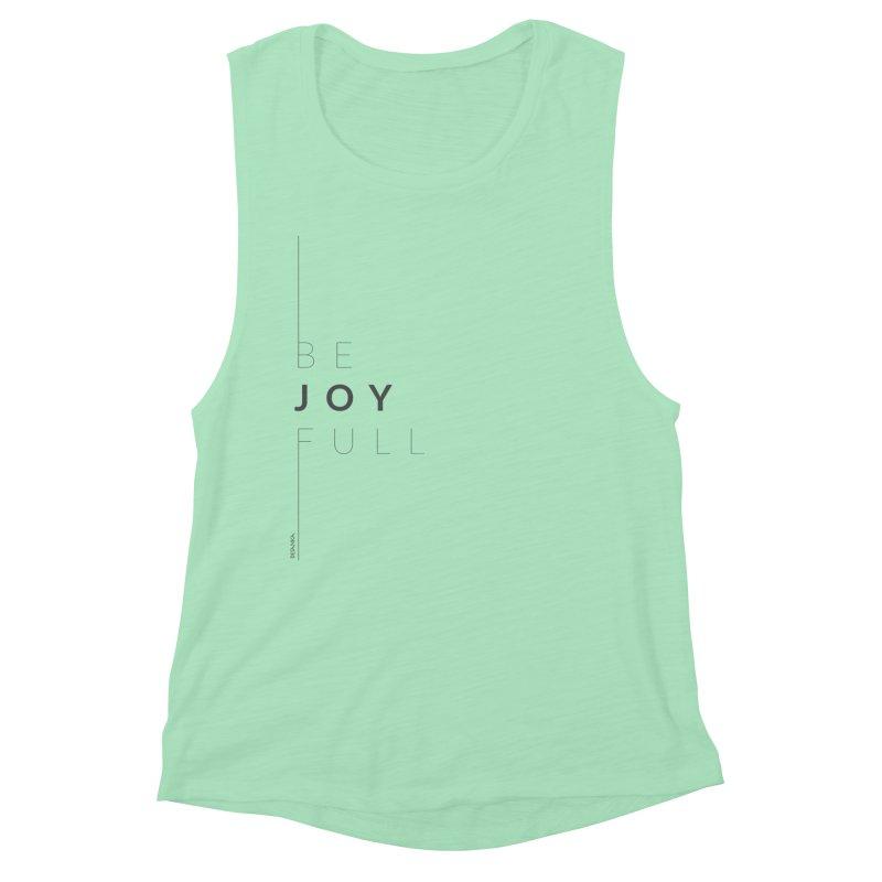 JOY // Full Women's Muscle Tank by Desanka Spirit's Artist Shop