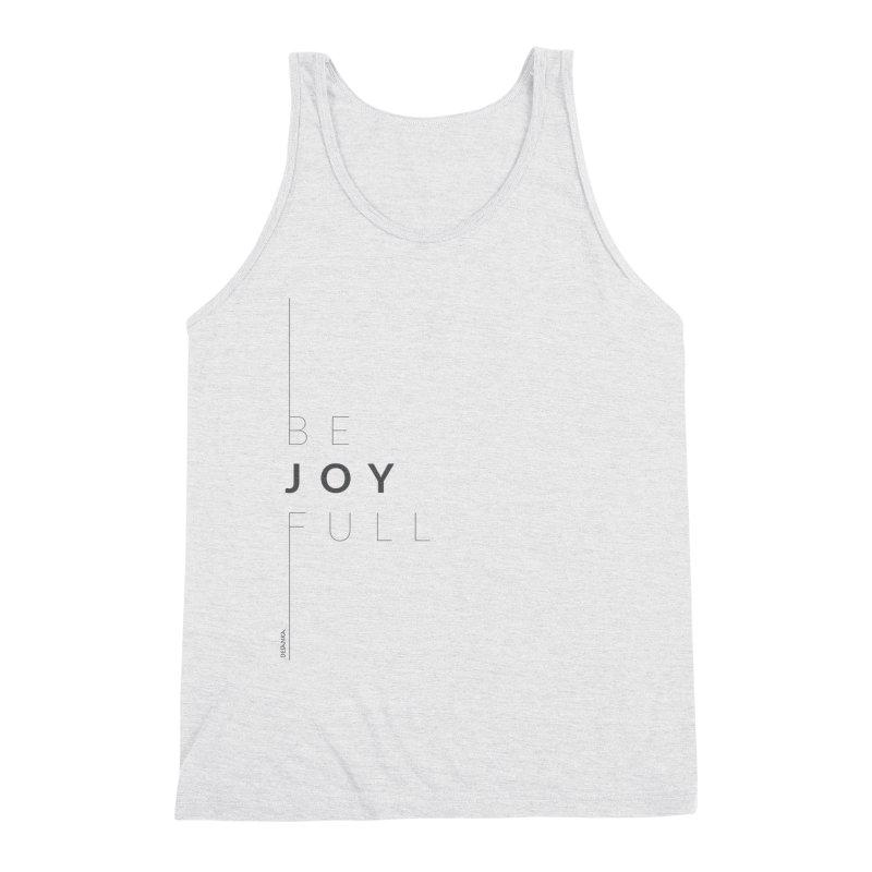 JOY // Full Men's Triblend Tank by Desanka Spirit's Artist Shop
