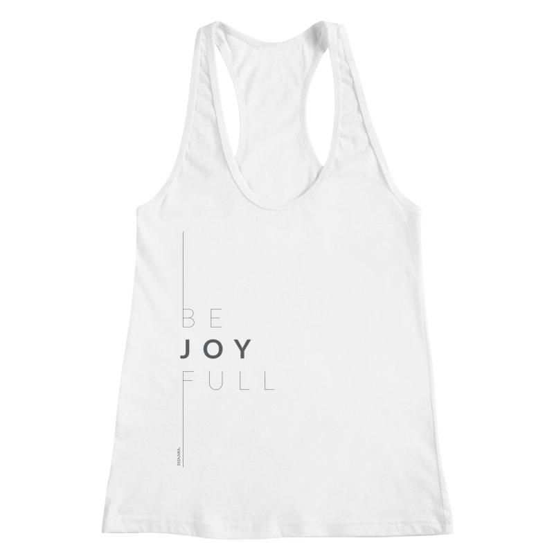 JOY // Full Women's Racerback Tank by Desanka Spirit's Artist Shop