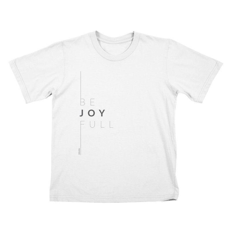 JOY // Full Kids T-Shirt by Desanka Spirit's Artist Shop