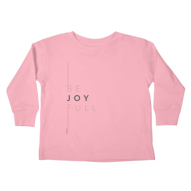 JOY // Full Kids Toddler Longsleeve T-Shirt by Desanka Spirit's Artist Shop