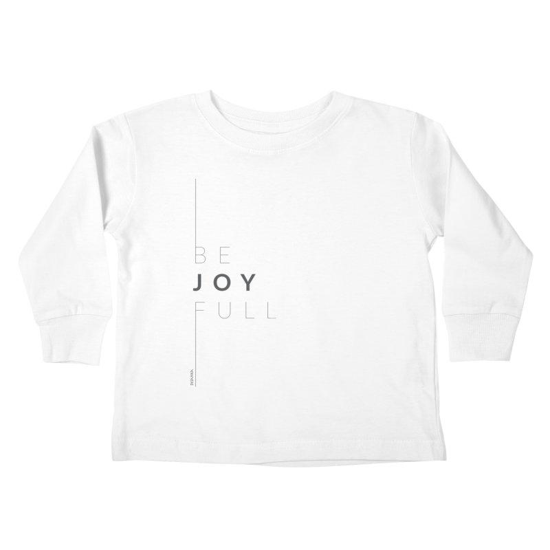 JOY // Full Kids Toddler Longsleeve T-Shirt by Desanka Spirit's Artist Shop
