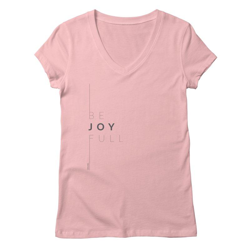 JOY // Full Women's V-Neck by Desanka Spirit's Artist Shop